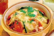 2色チーズ焼き ポルコ風MIXオムドリアセット