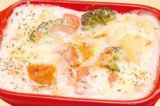 ごろごろ野菜と鶏肉のマンマグラタンセット