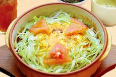 2色チーズ焼き メキシカンオムドリアセット